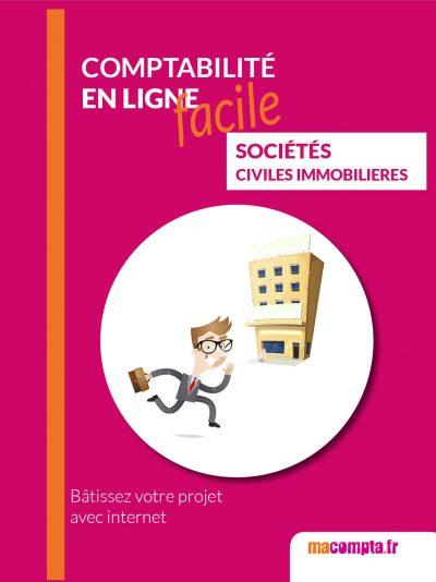 """Couverture du livre """"la comptabilité facile pour les sociétés immobilières"""""""